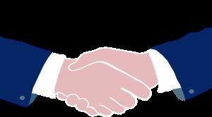 A contract. Shaking hands. Een contract. Welke consequenties heeft de blockchain technologie voor onze privacy?