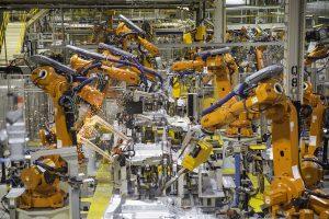 Fabricage. Robots. Manufacturing. Schaalvoordeel.