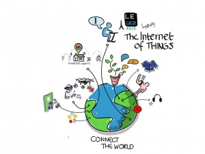 Illustration of the internet of things. The integration of the internet of things with block chain technology will become more and more common in the next few years. Uitleg blockchain. Illustratie van het internet der dingen. Het internet der dingen staat nog maar aan het begin van een evolutie. Apparaten en machinerie die aan het internet gekoppeld zijn zal steeds gewoner worden. Hoe het internet der dingen en blockchain technologie precies met elkaar zullen integreren is nog moeilijk te voorspellen.