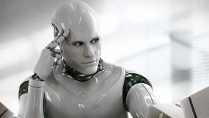A robot. Will robots have a need for privacy in the future? Een robot. Zullen robots in de toekomst behoefte hebben aan privacy?