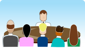 Manager and staff. Giving feedback. Manager en medewerkers. Feedback geven.