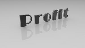 Profit. Winstaandeel.
