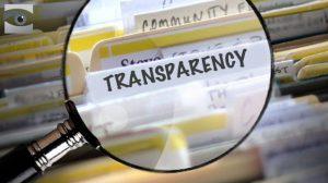 Transparantie, vergrootglas.