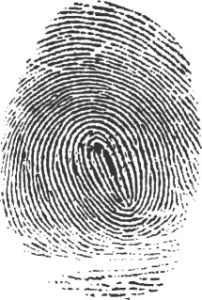 A vinger print. Block chain technology uses a sophisticated and state of the art security technique, to identify if people are, who they pretend to be. Uitleg blockchain. Een vingerafdruk. Blockchain technologie maakt gebruik van een hoogontwikkelde techniek die mensen kan identificeren.