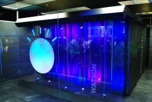 Supercomputer Watson. IBM. Singularity. Singulariteit.