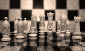 Chess. Schaken.