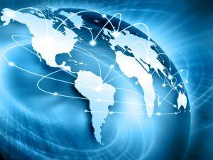 Een wereldwijd blockchain netwerk.