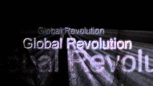 Global revolution. The blockchain technology is going to be huge. Wereldwijde revolutie. De verwachtingen van de blockchaintechnologie zijn erg hoog gespannen.