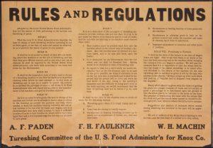 An old paper with rules and regulations. Rules and regulations can be build into the smart contracts. Een oud formulier met regels en voorschriften. Regels en voorschriften kunnen worden ingebouwd in de slimme contracten.