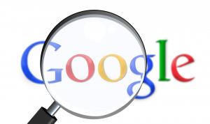 Google, vergrootglas