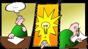 Idee, uitvinder
