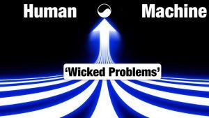 Mens en machine. Wicked problems. Yin Yang.