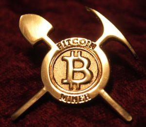 Bitcoin proof of work.