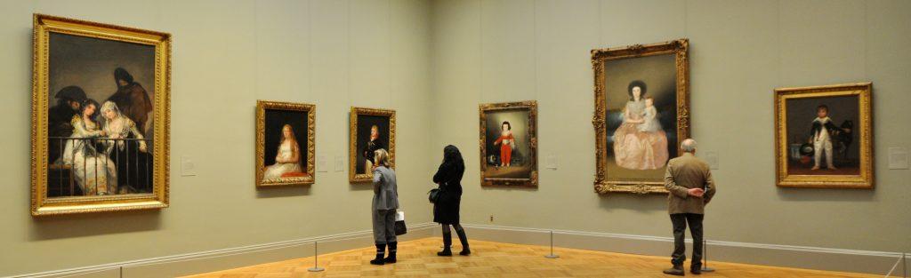 Schilderijen museum
