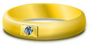 Ring, diamant, herkomsbepaling van luxe goederen, Everledger.