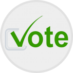 Vote, stemmen, blockchain governance.