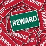 Reward. Beloning van de miners met Ether.