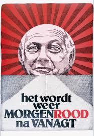 Het wordt morgen weer rood, joop den uyl, PvdA.