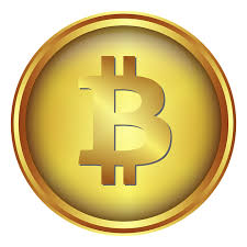 Bitcoin munt, geldvoorraad, cryptocurrency.