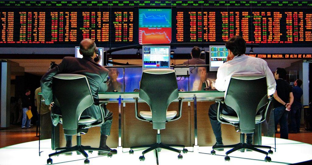 Stock exchange, effectenbeurs.