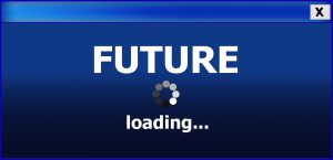Future loading. Download future. De toekomst van blockchain.