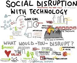 Maatschappelijke en sociale disruptie door nieuwe technologieën zoals de blockchain.