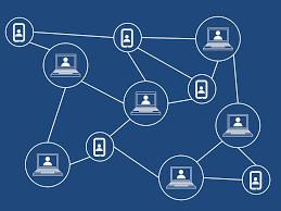 Distributie van waarde via een blockchainnetwerk.