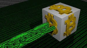 Bitcoin, blockchain.