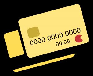 Debetcards, creditcards.