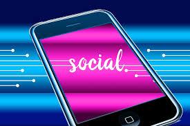 Iphone, social.
