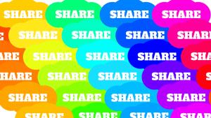 Share, delen, deeleconomie.