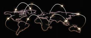 Wereldwijd netwerk.