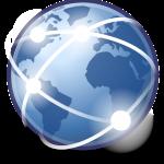 Blockchain, wereldwijd netwerk.