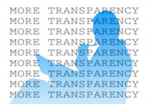 More transparancy