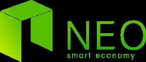 NEO logo, NEO dapp, Smart economy, cryptogeld.