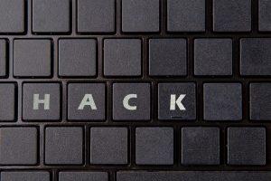 Toetsenbord, hack, cybercrime.