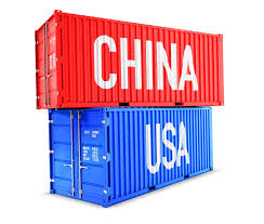 Containers, China, Usa.