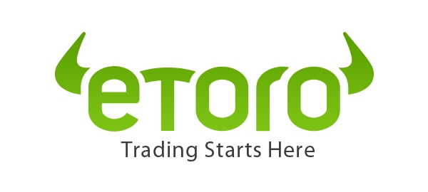 De website van eToro.