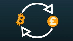 Bitcoin en pond.