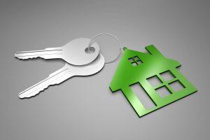 Huis, sleutels.
