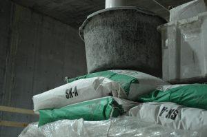 Cement, beton.