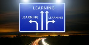 Learning, bewegwijzering, pijlen