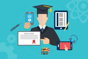 Student, educatie, blockchain opleidingen.