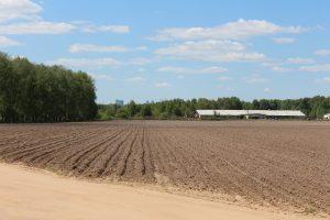 Landbouwgrond, kadastrale eigendommen.