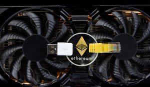 Ethereum mining hardware.