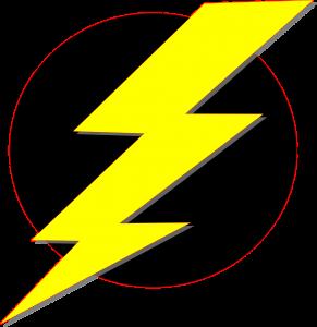 Elektriciteit, bliksemschicht.