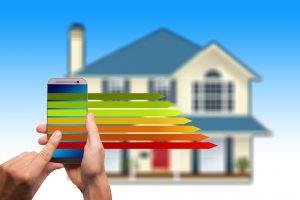 Smart home, energiedistributie, schone energie.