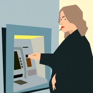 Pinautomaat, bankrekeningnummer.