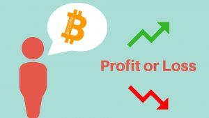 Profit or loss, winst of verlies, Bitcoin.