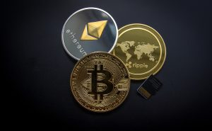 Cryptocurrency's, Bitcoin, Ethereum, Ripple